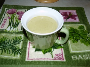 Cup of Asparagus Soup