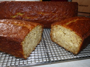 Fresh Banana Bread