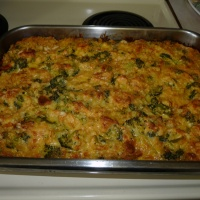 Broccoli Rice Casserole {said with a southern accent}