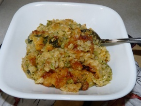 Broccoli Rice Casserole (Cheddars