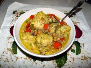 Curried Chicken and Dumplings