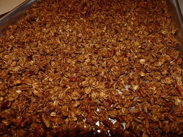 Baked Pumpkin Granola