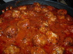Meatballs that taste like Lasagna