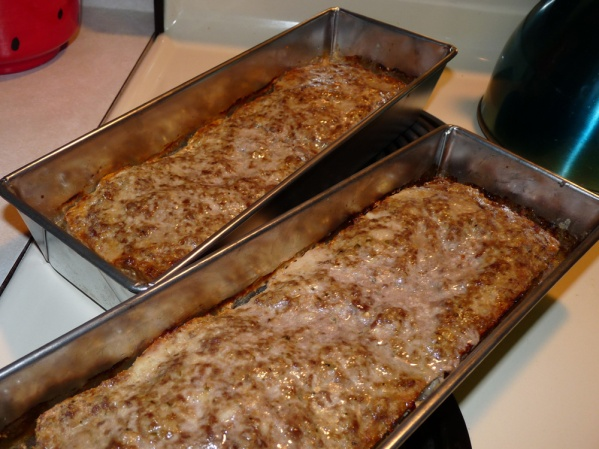 Meatloaf Baked in Pans