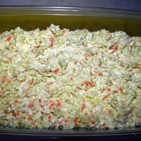 Copy Cat Coleslaw {like a visit to Kentucky}