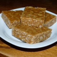 Peanut Butter Rice Krispies Bars