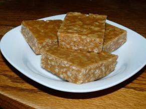 Peanut Butter Rice Krispies Bars