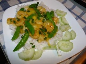 Pineapple Shrimp Stir Fry