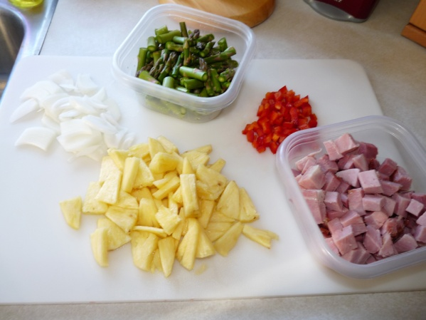Prepared ingredients