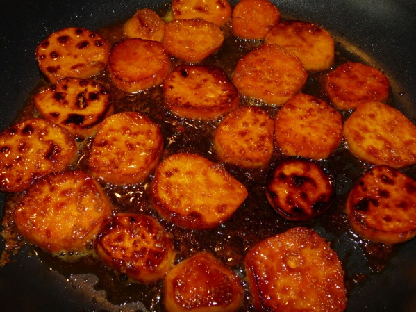 Curried Sweet Potato Coins