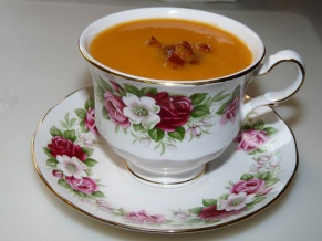 Princess Diana Carrot Soup