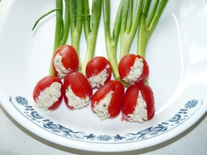 Chicken Salad Tulips