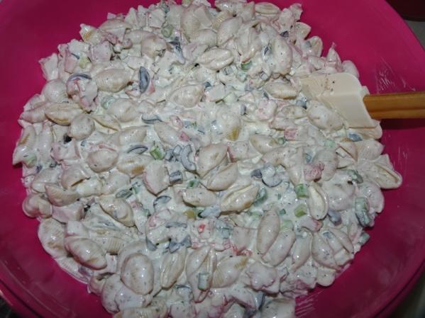 Krab Pasta Salad