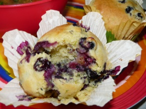 Blueberry Lemon Lime Muffins
