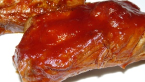 Ribs with Bourbon Sauce