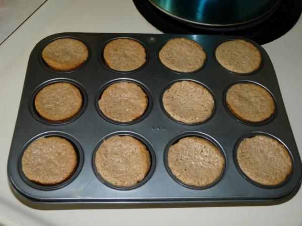 Bake until toothpick tests dry
