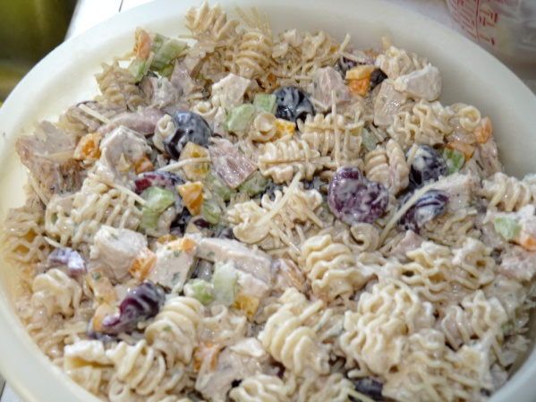 Chicken Cherry Pasta Salad