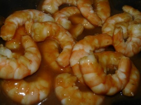 Melady Cooks - Sesame Ginger Shrimp