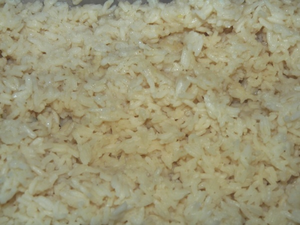 Make rice ahead of time and cool for several hours