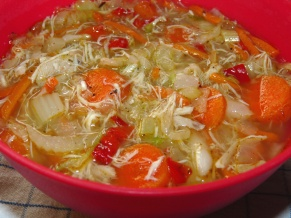 Cole Slaw Soup - Melady Cooks