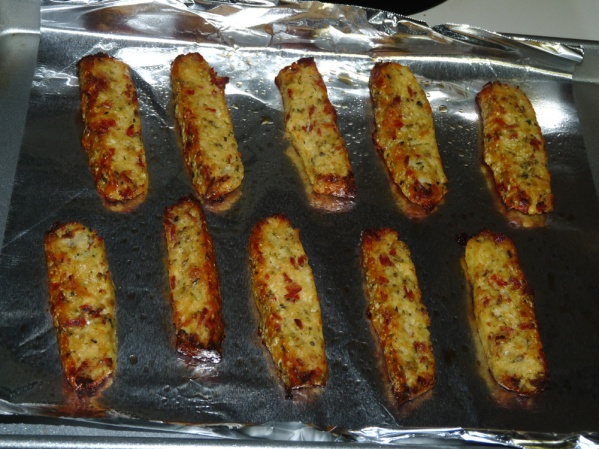 Cauliflower Pepperoni Breadsticks