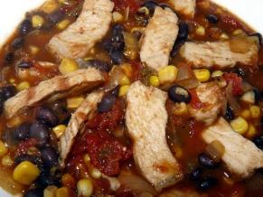 Leftover Pork Chop Soup