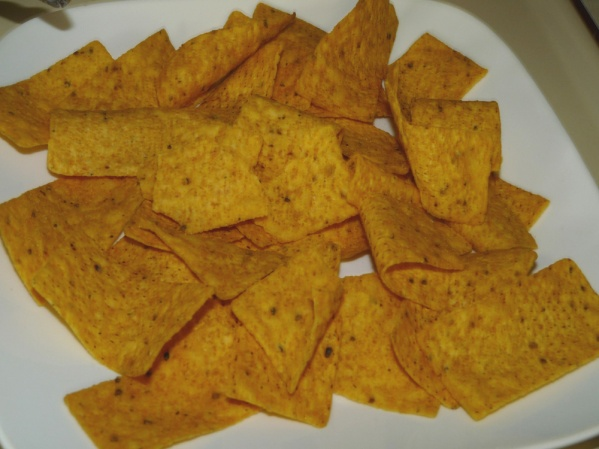 Layer your choice of tortilla chips