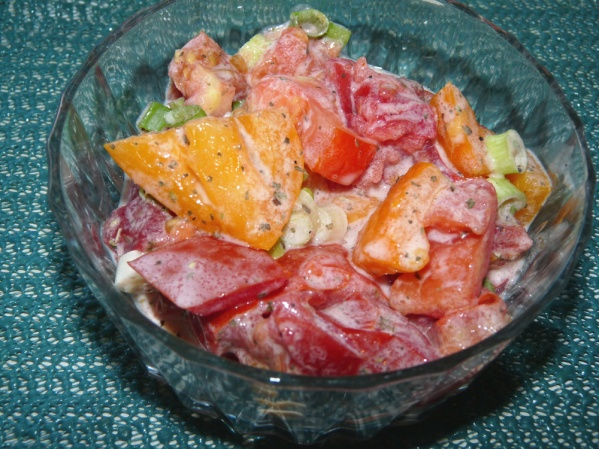 Buttermilk Tomato Salad