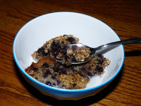 Blueberry Baked Oatmeal