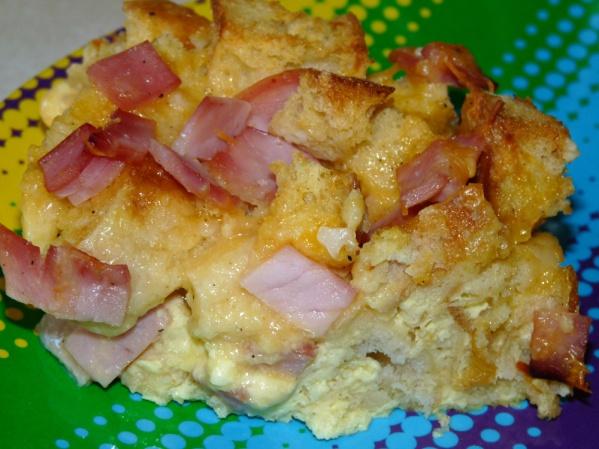 English Muffin Breakfast Bake