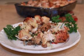 Mushroom Leek Stuffing