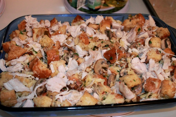 We added the turkey to make it a complete meal
