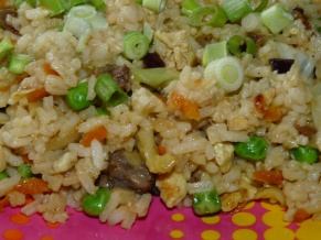 Fried Rice with Steak