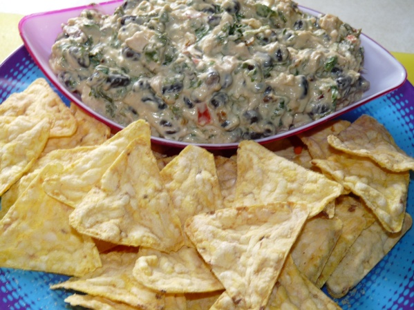 Southwestern Warm Chicken Dip