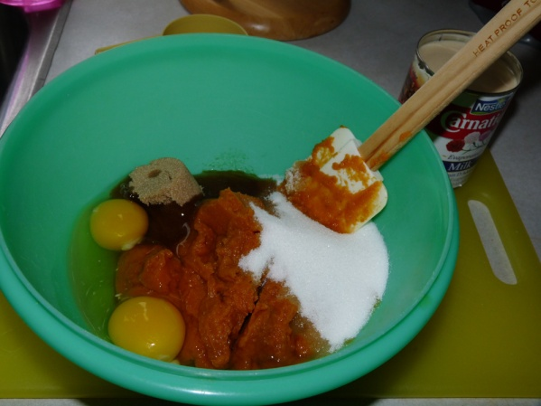 Mix wet ingredients