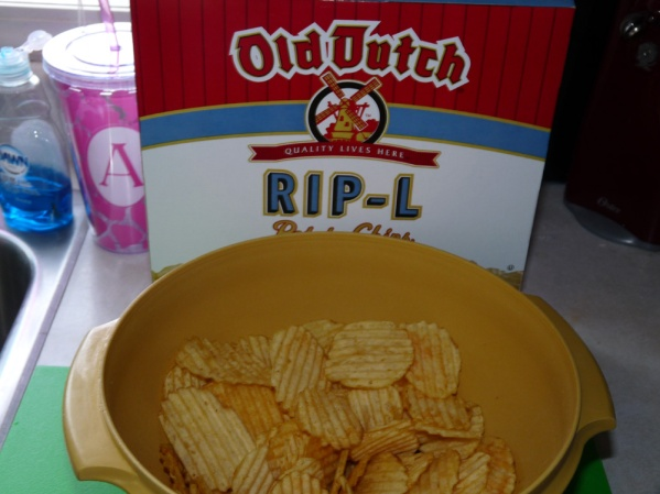 Use ripple chips that are medium sized