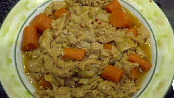 Crockpot Chitterlings