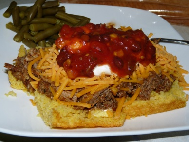 Cornbread Pulled Pork