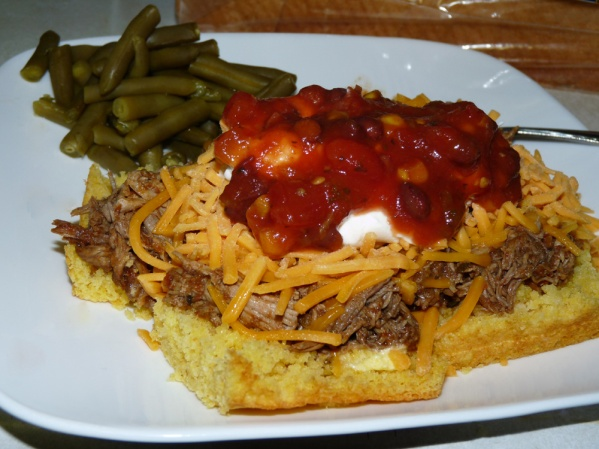 Cornbread Mexican Pulled Pork
