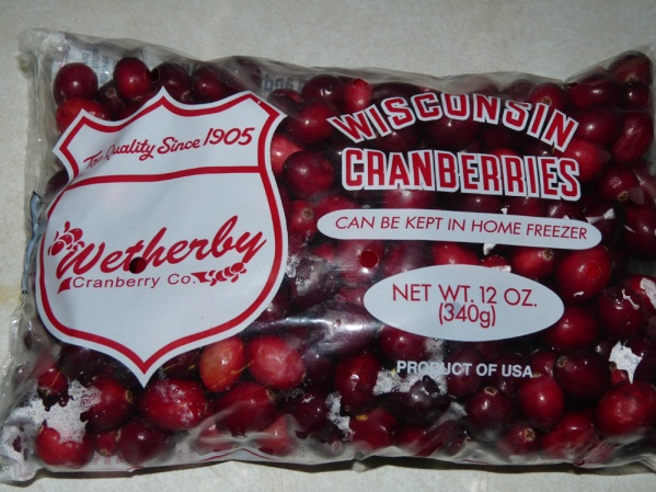 Cranberries from Wisconsin