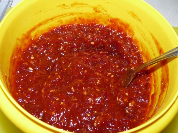 Prepare sauce while the ribs sear