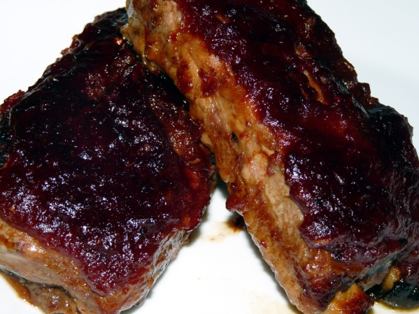 Cranberry Pork Ribs
