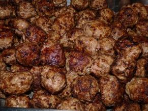 Elk Ricotta Meatballs