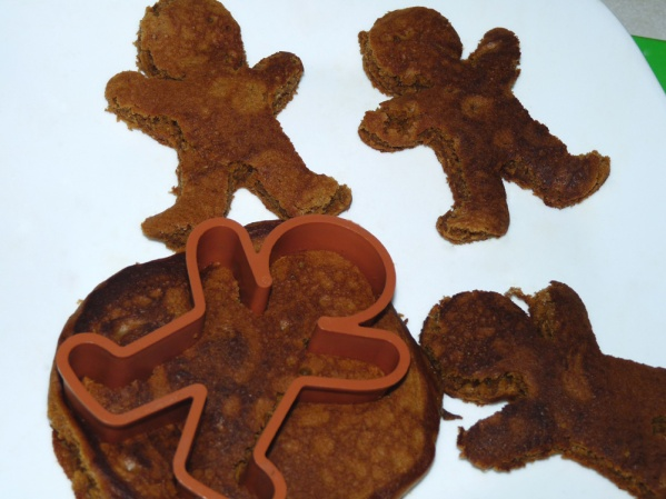 Cut into shapes using a cookie cutter