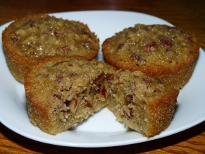 Pecan Pie Muffins : Melady Cooks