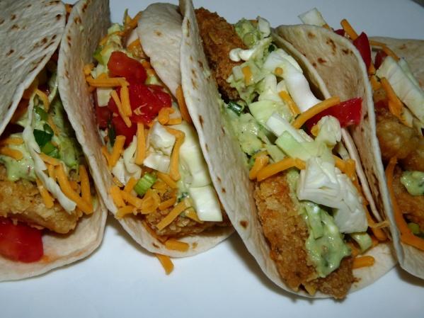 Fish Tacos {Crispy Tilapia}