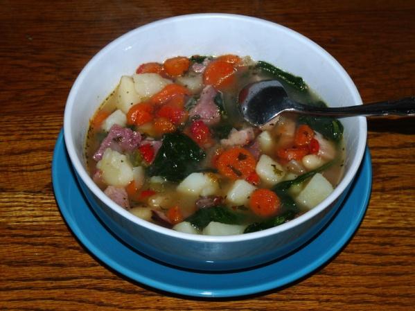 Blizzard Ham and Bean Soup