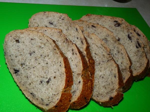 Rustic Kalamata Bread