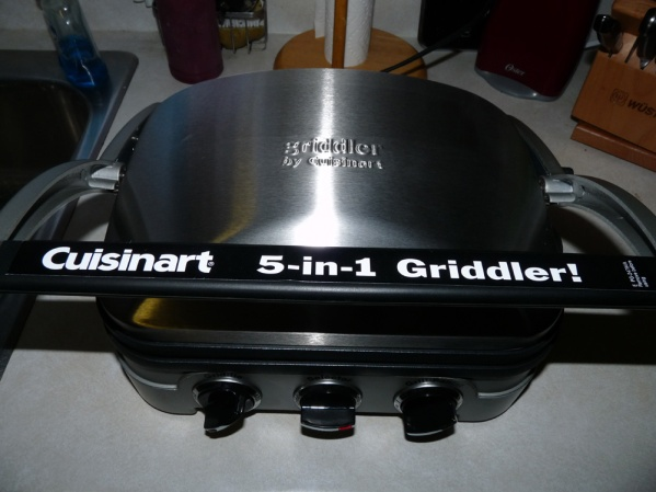 My new Panini Griddler