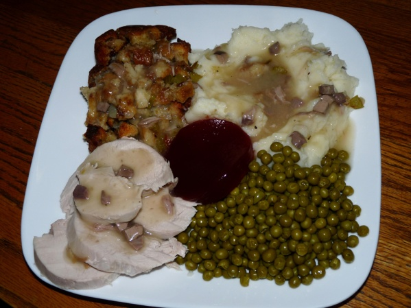 My P.S. cooked a turkey dinner